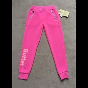 Butter So Soft Fleece Sweat Pants, Girls SM & XL